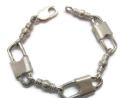 Acts Bracelet Fishers Of Men Sterling Silver Jumbo Link Original Design